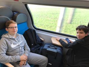 Zugfahrt 7